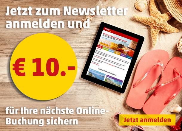 PENNY Reisen Newsletter