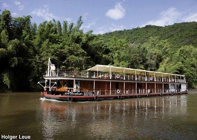 River Kwai Flusskreuzfahrt & Baden in Hua Hin