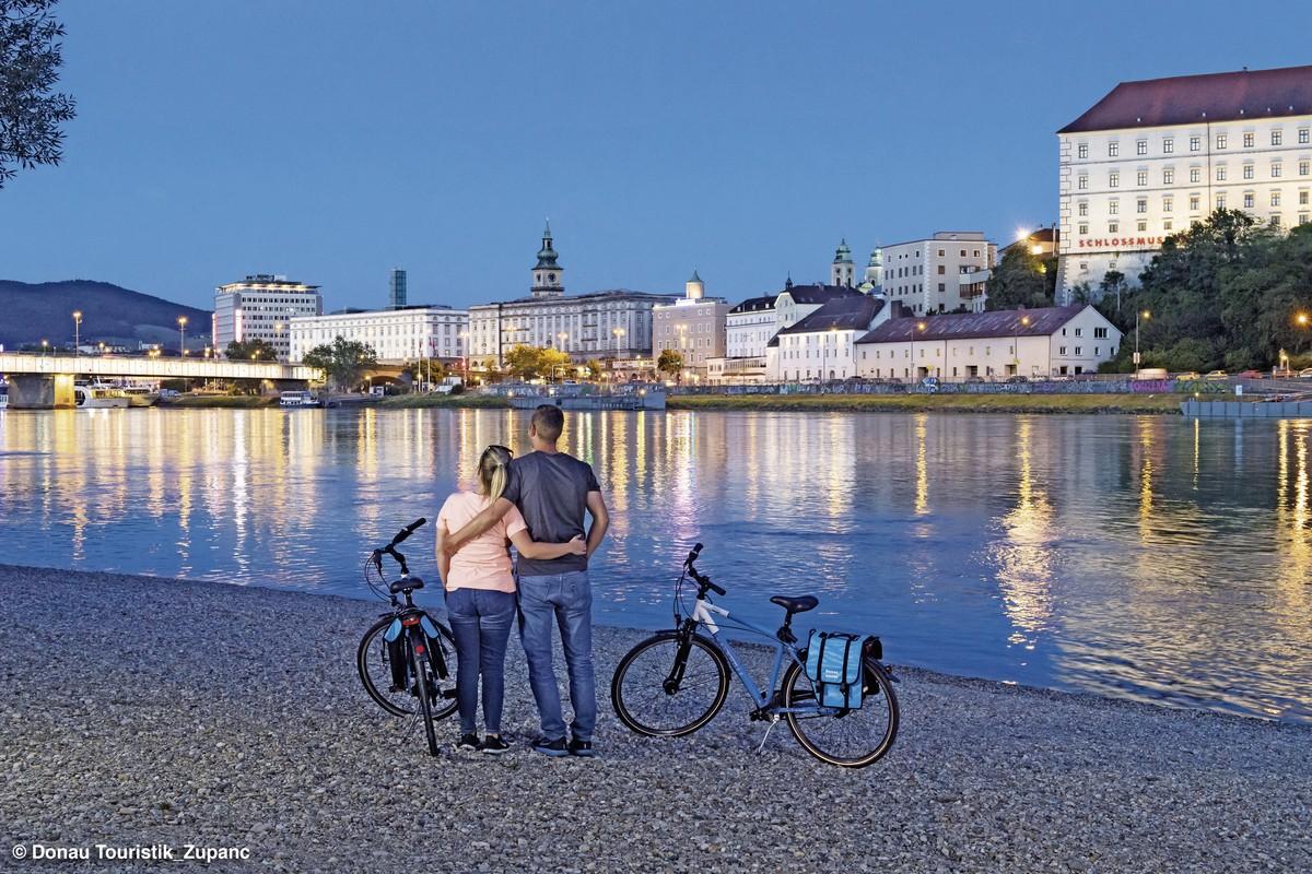 Donau Radweg Passau Linz Wien 187 214 Sterreich