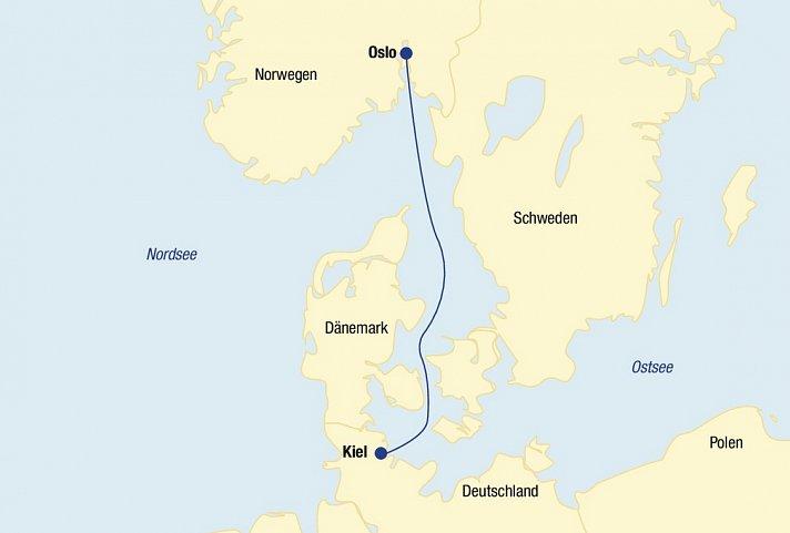 Minikreuzfahrt Norwegen 187 Ostsee Kiel Oslo