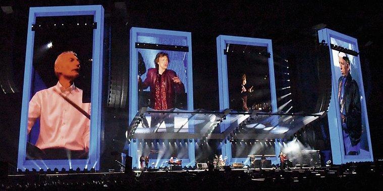 Rolling Stones Konzert -